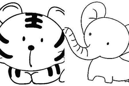 【图】简笔画动物欣赏 三大步骤教你如何绘画