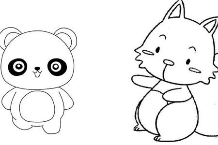 【图】简厕所动物宝宝让笔画轻松学画画教程初中女图片
