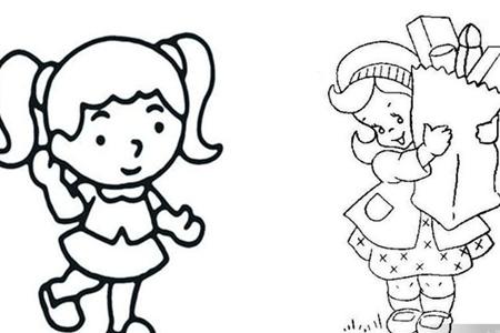 【图】超可爱萌系简笔画人物 学了教程变身作画小能手