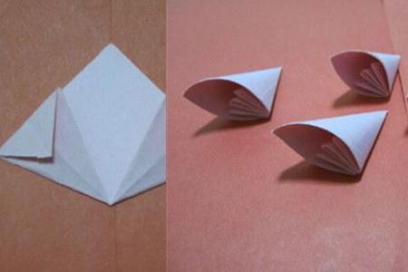 【图】纸花的折法六个步骤告诉你 折出让女票心仪的小彩花