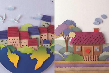 【图】纸雕房子是怎样制作出来的 这种作品有什么用处