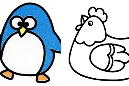 【图】简笔画动物轻松个性创作 开发大脑提高动手能力