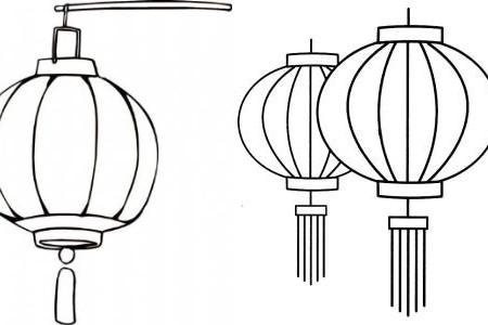 【图】好看的灯笼简笔画 教你轻松学会