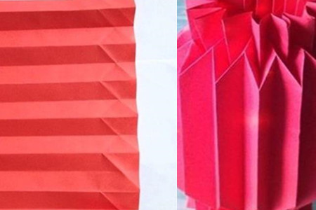 纸灯笼的折法图解 分享如何自制方法_伊秀创意|yxlady