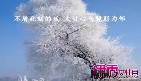 【图】冬天的秘密歌词:这份秘密只适合收藏在