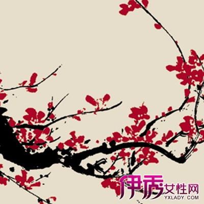 【图】欣赏水墨梅花的图片 盘点梅花独具魅力的特点