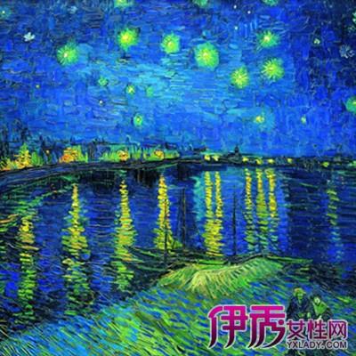 【图】梵高星空高清原画图片欣赏