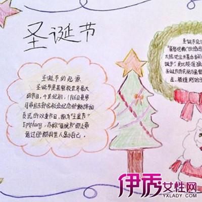 2016圣诞节手抄报必备圣诞树简笔画