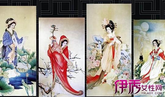 【图】古代四大美女性感照片欣赏 分析四大美女称号的由来