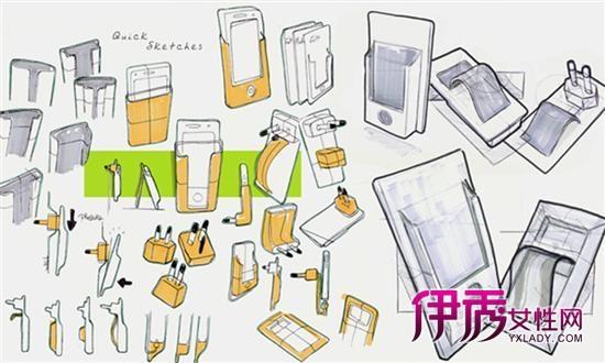 iphone概念支架:太阳能充电操作便捷_数码产品_数码
