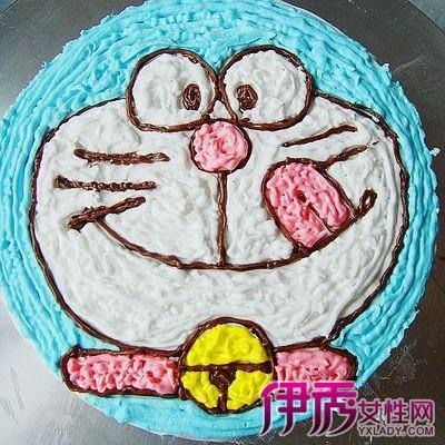 17个步骤教你做出可爱的卡通蛋糕