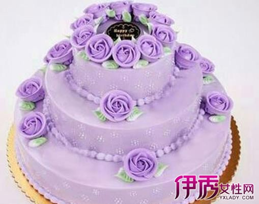 【生日蛋糕三层图片】【图】生日蛋糕三层图片汇总