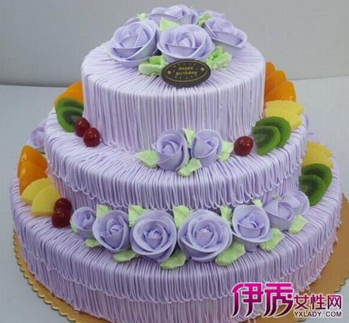 生日蛋糕三层图片汇总 制作蛋糕的基本方法介绍图片