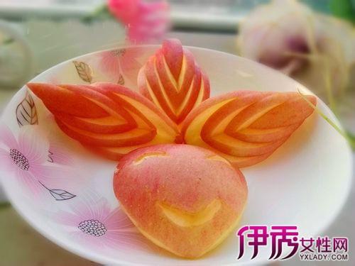 【图】苹果拼盘图片及做法详解 教你吃过苹果新花样
