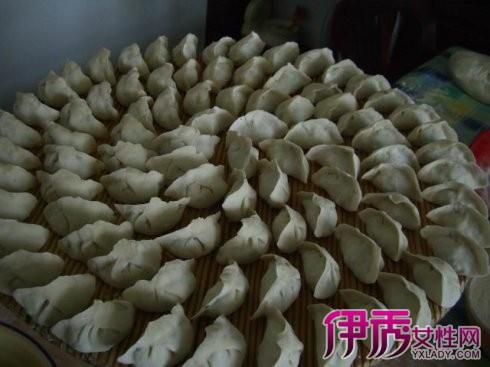 【图】包饺子捏的步骤图片