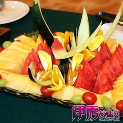 【图】水果拼盘图片大全展示 家宴造型巧心思花式水果拼盘