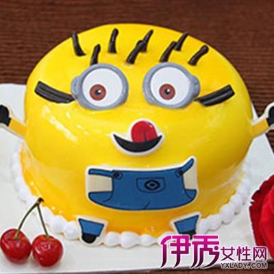 【小黄人蛋糕图片大全】【图】最可爱的小黄人蛋糕