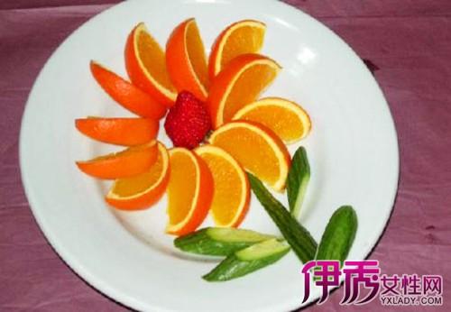 【图】橘子拼盘图片大全 教你何如做一个漂亮橙子拼盘