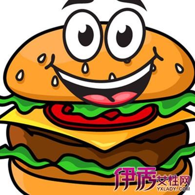 【卡通汉堡】【图】欣赏可爱卡通汉堡图片