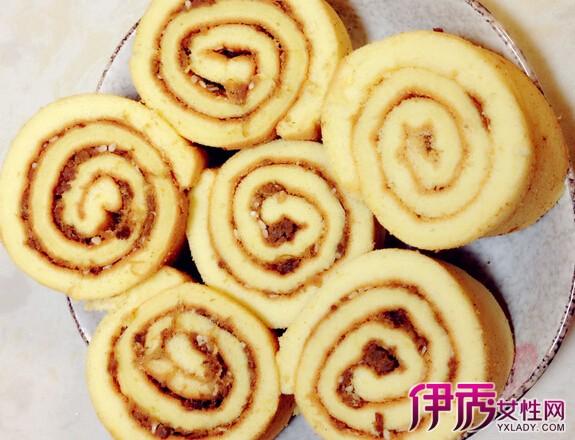 【肉松简介】【图】月季肉松雪花教你两种做肥牛蛋糕蛋糕吧图片