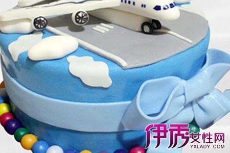 【飞机蛋糕】【图】小朋友们超级喜欢的飞机蛋糕