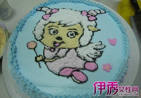 【圖】如何在蛋糕上畫畫