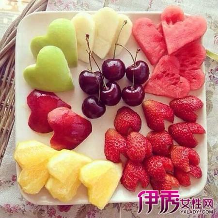 水果摆盘图片欣赏 水果拼盘五大原则你需要掌握