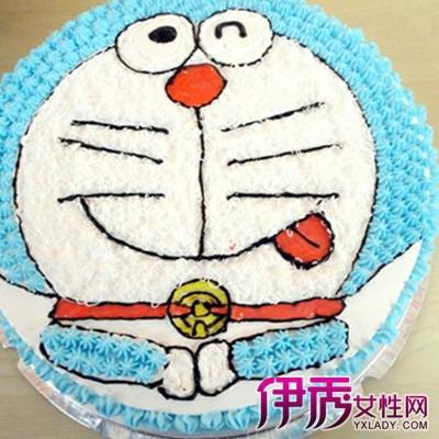 【图】叮当猫蛋糕制作过程