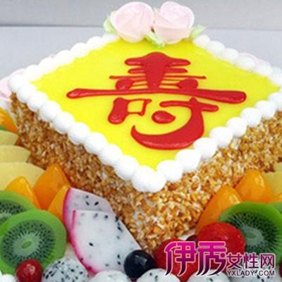 【图】寿字蛋糕图片欣赏 蛋糕的样式由来介绍