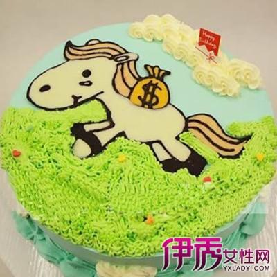 【马生日蛋糕】【图】展示带马生日蛋糕的图片