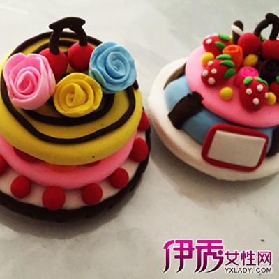 彩泥蛋糕制作教程