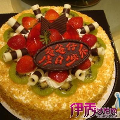 【图】父亲生日蛋糕图片大全 揭秘生日蛋糕的简单做法及营养分析