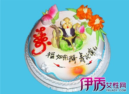 【图】老人过生日蛋糕图片大全 给老人过寿必须知道的礼仪