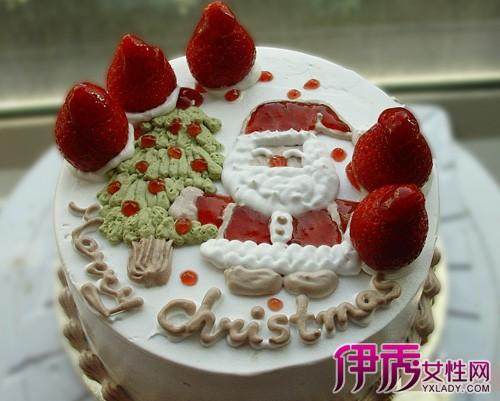 【圣诞节生日蛋糕】【图】圣诞节生日蛋糕图片展示