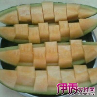 【图】哈密瓜怎么切好看 哈密瓜的食用禁忌介绍