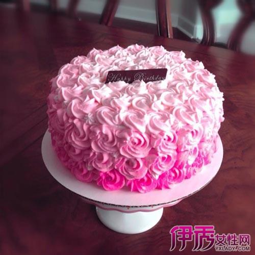 【三层裱花蛋糕图片】【图】三层裱花蛋糕图片