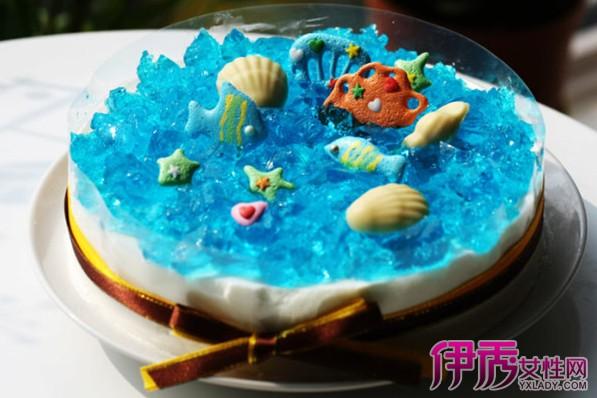 【图】海洋蛋糕图片欣赏 小清新海洋蛋糕的做法
