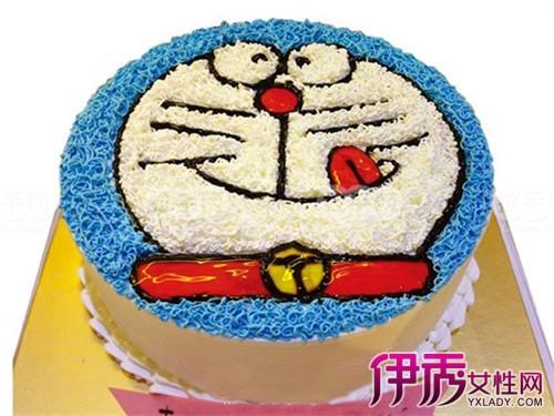 【图】可爱多啦a梦蛋糕图 简单步骤教你diy蓝胖子蛋糕