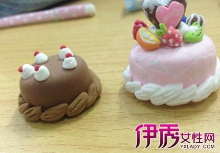【粘土蛋糕甜品图片】【图】粘土蛋糕甜品图片展示