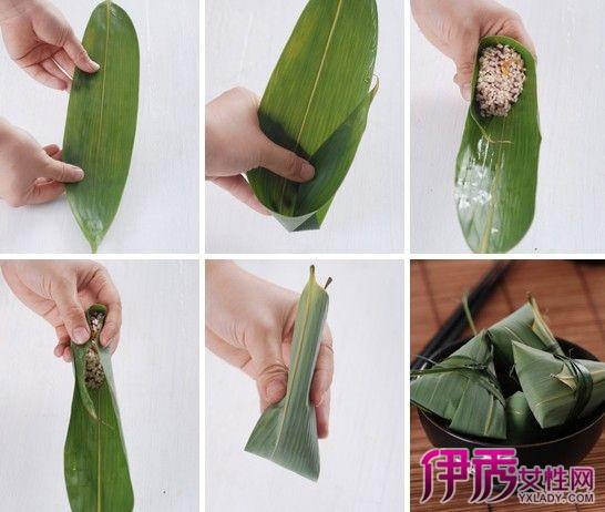【长粽子的包法图解】【图】长粽子的包法图解大全