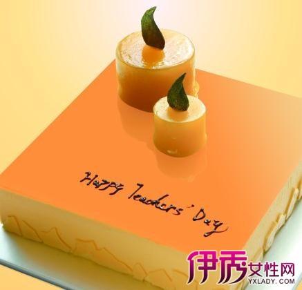 【图】欣赏教师节蛋糕图片 十步教你做出美味糕点送给辛勤的园丁