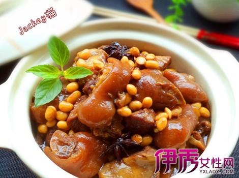 【电饭锅黄豆焖猪蹄】【图】电饭锅猪蹄焖鸡翅烤椒麻黄豆