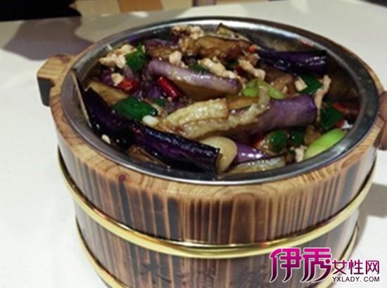【茄子肉沫木桶饭】【图】茄子肉沫木桶饭的做法
