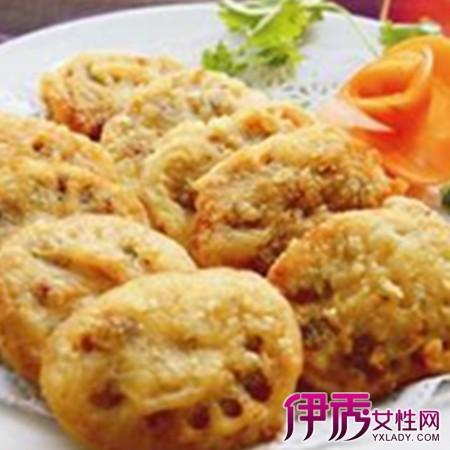 【图】香煎素藕饼的做法大全 六步骤四技巧教你做出完美美食