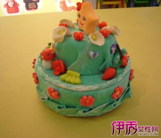 【图】粘土蛋糕图片欣赏 教你轻松学会做蛋糕