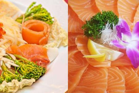 【图】三文鱼美食刺身v美食和品尝热量一点也日本著名塑身衣vertex图片