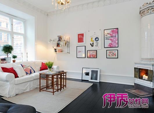 清新现代家居设计 北欧风格客厅装饰的解读