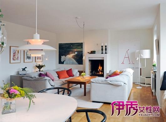 下面分享几套北欧风格的客厅专辑