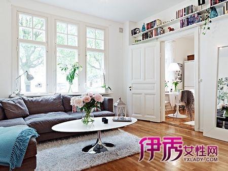 50平独特可爱小公寓 1室1厅的幸福新婚生活
