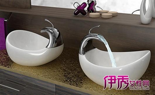 家居创意设计有趣的洗手台